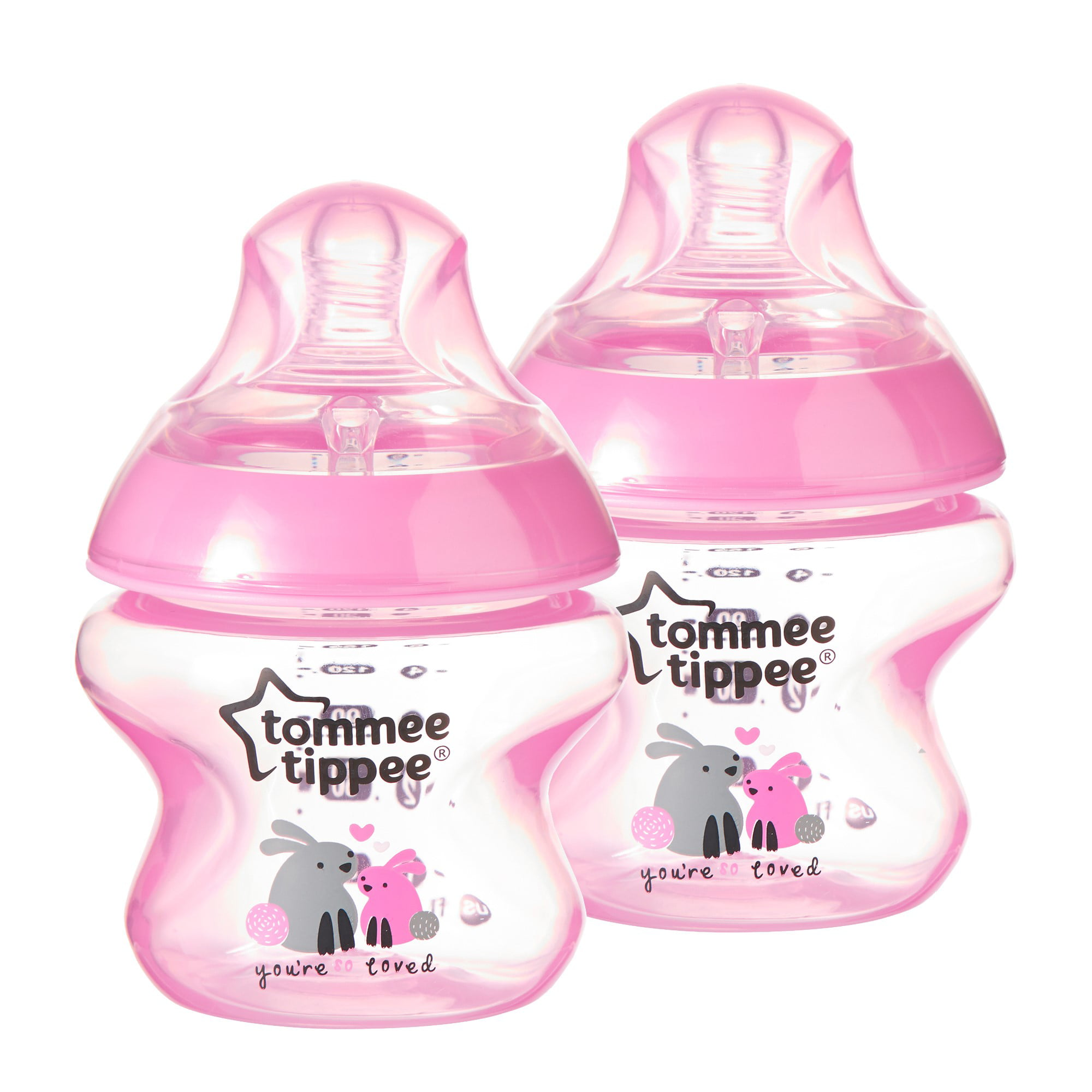 Tommee Tippee CTN Decorated Bottles 2PK