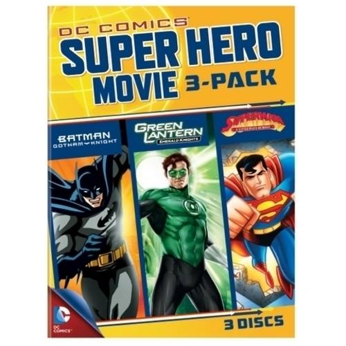DC Superheroes Movies 3-Pack: Batman: Gotham Knight / Green Lantern: Emerald Knights / Superman: A Little Piece Of Home (Anamorphic Widescreen)