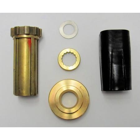 Johnson/Evinrude/OMC OEM TBX Prop Hub Bushing Assembly Kit/V6 0177288, 177288 (White Dual Bushings)