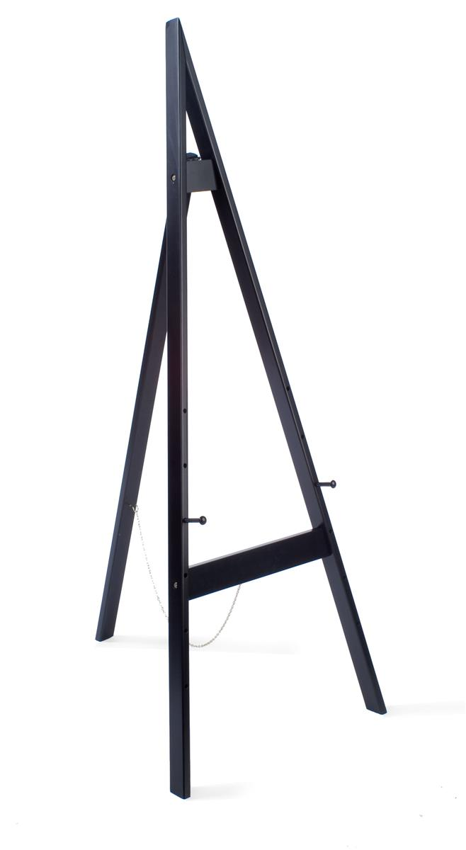 Displays2go Wooden Display Easel With Height Adjule Pegs 60 Inches Tall