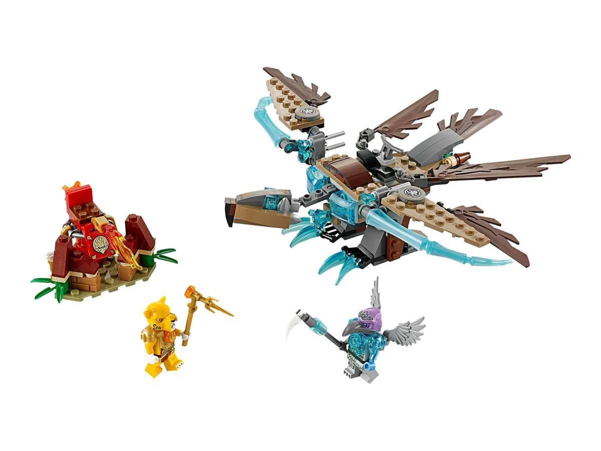 LEGO 70141 Legends of Chima Vardy/'s Ice Vulture Glider New in Box!! 217pcs