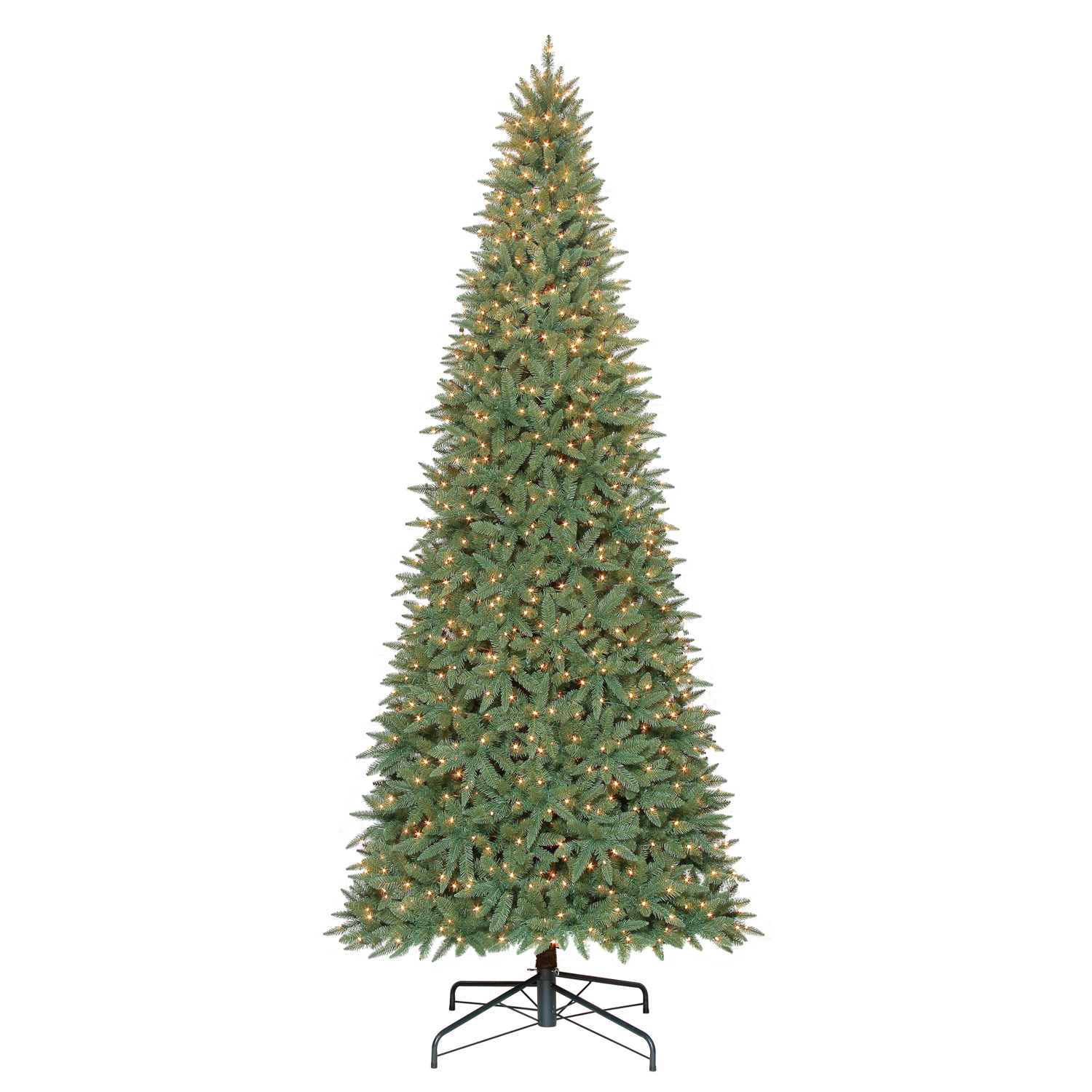 Holiday Time Pre-Lit 12\' Williams Pine Artificial Christmas Tree ...