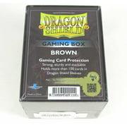 Brown Gaming Card Deck Box Dragon Shield Fantasy Flight Games