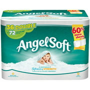 Angel Soft Toilet Paper, 36 Double Rolls, Bath Tissue