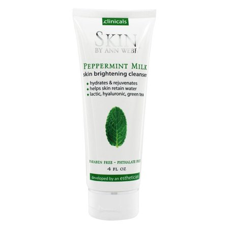 Organics Peppermint Cleanser - Skin by Ann Webb - Skin Organics Peppermint Milk Hydrating Cleanser - 4 oz.