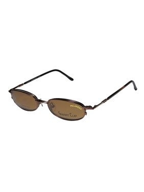 f5d3487766 Product Image New Smartclip 271 Mens Womens Designer Full-Rim Bronze  Stainless Steel Polarized Clip-