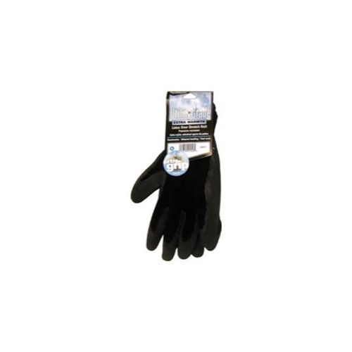 Magid 408WTL Black Winter Knit, Latex Coated Palm Gloves - Large