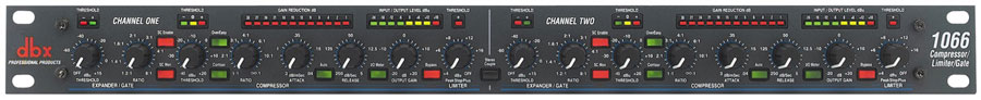 dbx 1066 2 Channel Compressor by