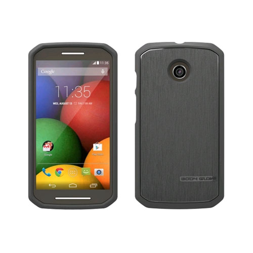 Body Glove Satin Case for Motorola Moto E Charcoal by Body Glove