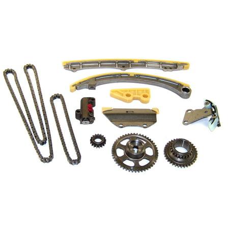 DNJ TK216 Timing Chain Kit for 2002-2006 Acura Honda 2.0L L4 16V DOHC 122cid K20A3 [VTEC]