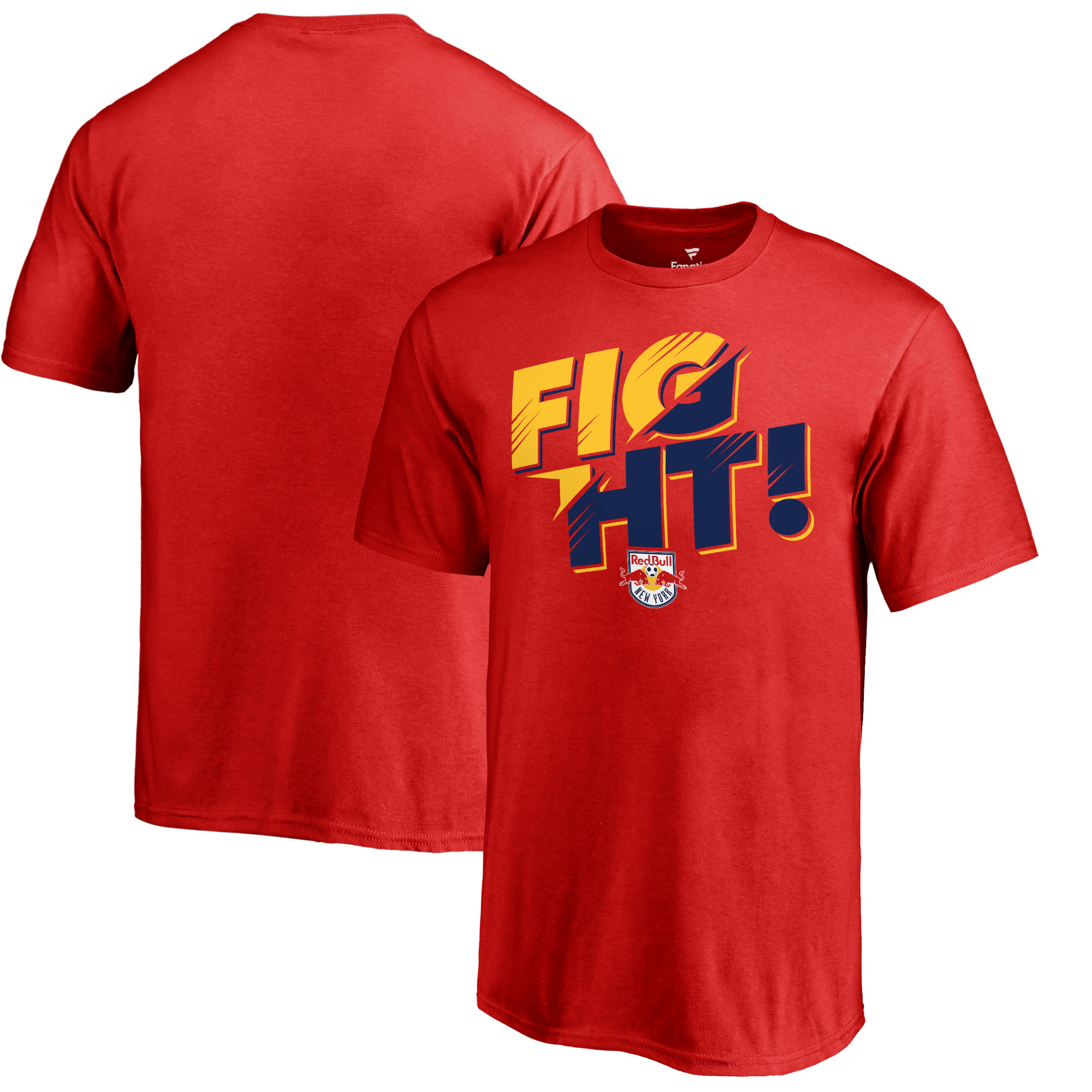 New York Red Bulls Fanatics Branded Youth Hometown Collection Fight T-Shirt - Red