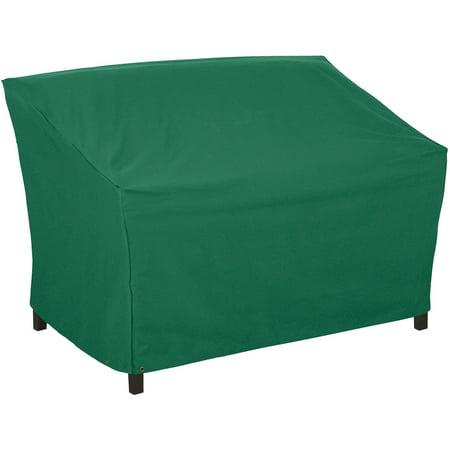 Classic Accessories Atrium Patio Bench Furniture Storage Cover, Green ()