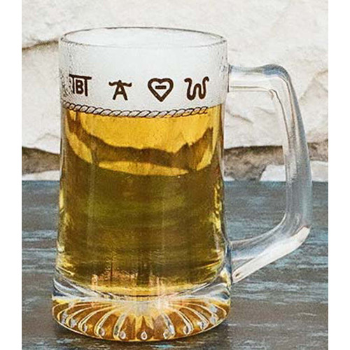 West Creation Western 15 oz. Beer Glass (Set of 4)