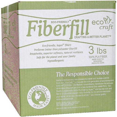 Eco-Friendly Fiberfill, 3 lbs