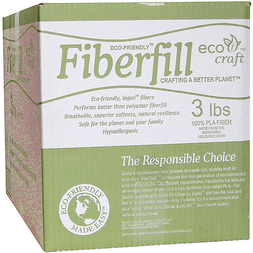Eco-Friendly Fiberfill, 3 lbs