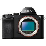 Sony Alpha a7 Full Frame Mirrorless Camera - Black