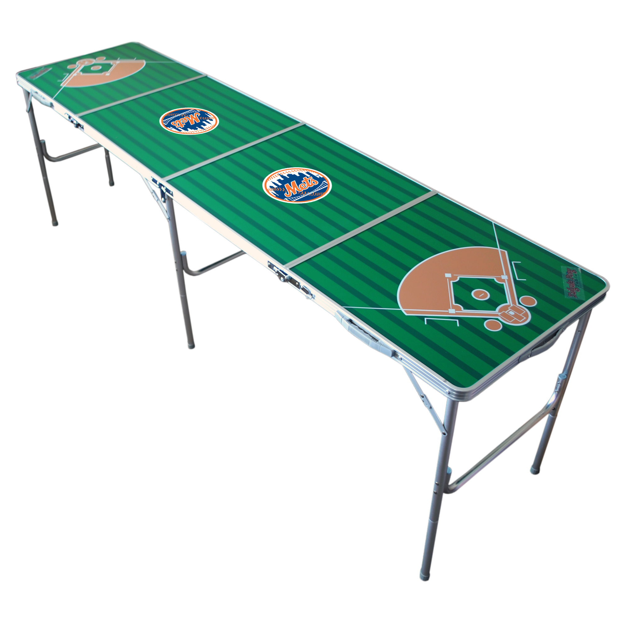 New York Mets 2' x 8' Tailgate Table - No Size