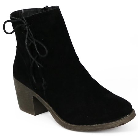 Chatties Womens 6-11 Microsuede Heel Boot