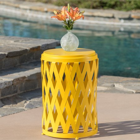 Christopher Knight Home Selen Outdoor 14-inch Lattice Side Table by ()
