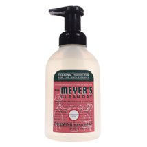 Hand Soap: Mrs. Meyer's Foaming