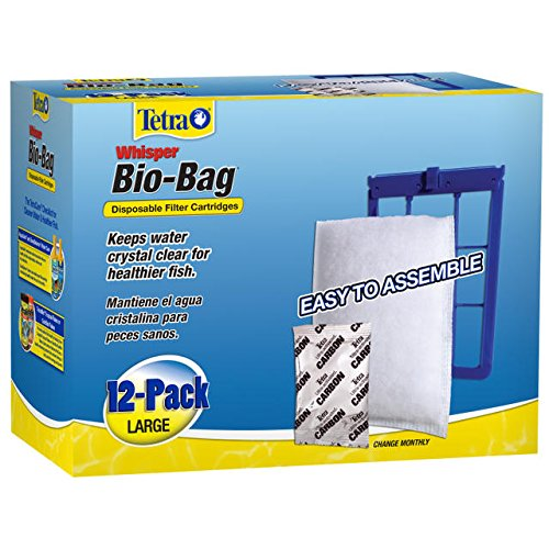 Tetra Whisper Bio-Bag Disposable Filter Cartridges 12 Count, Large