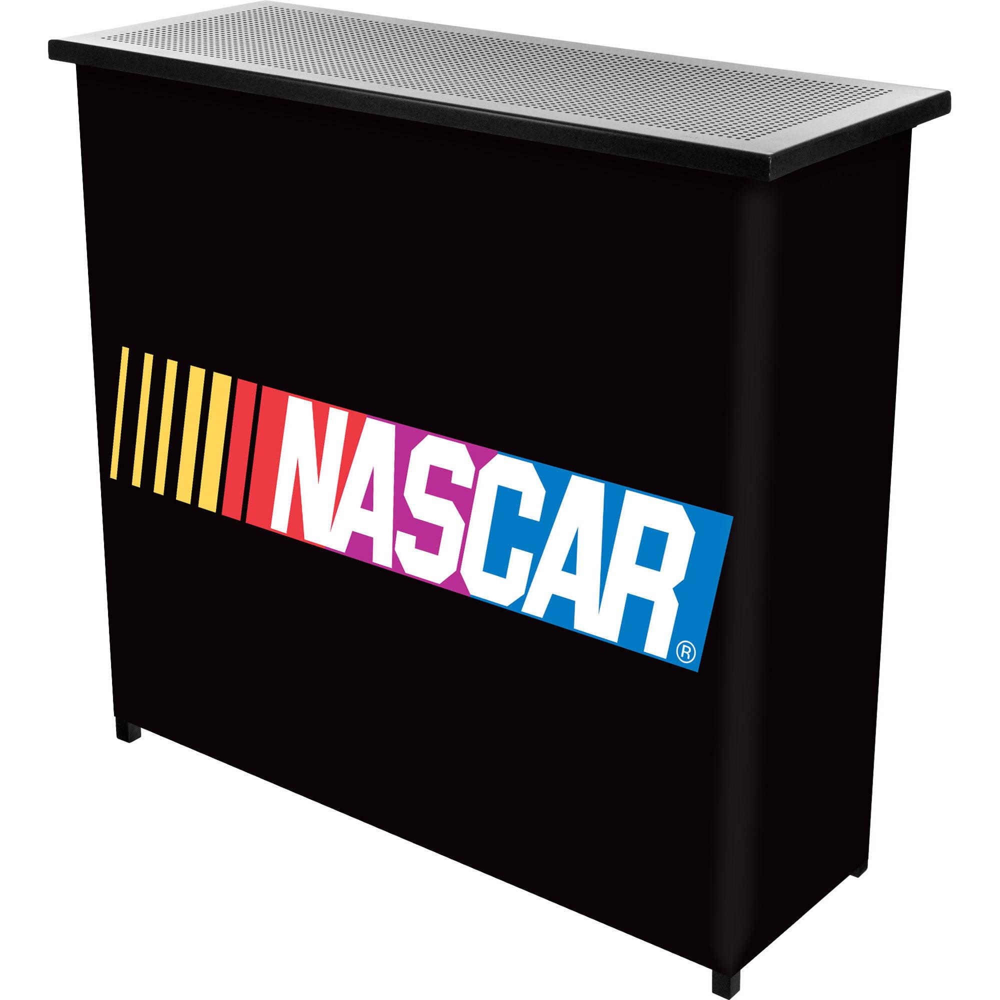 NASCAR 2-Shelf Portable Bar with Carrying Case