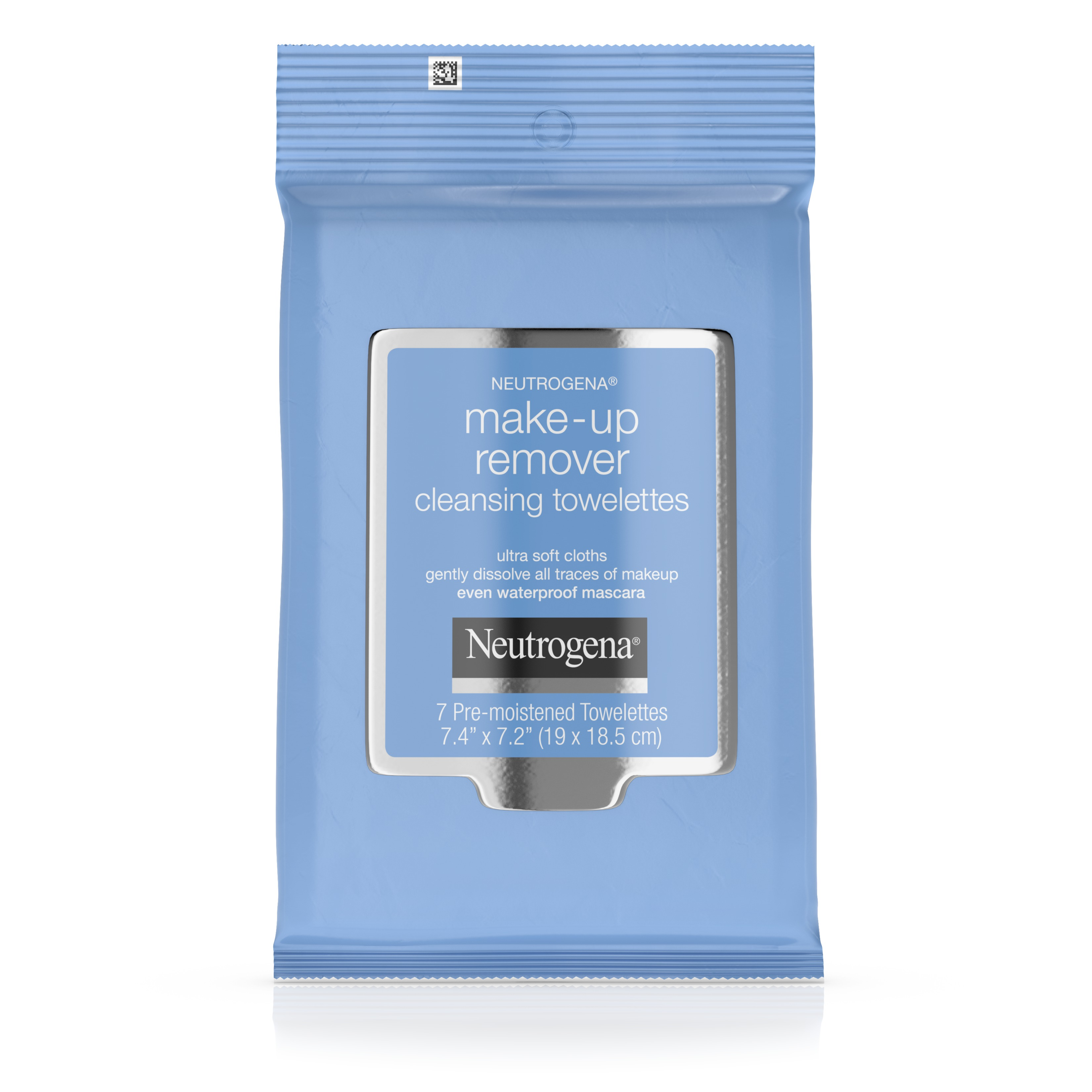 (4 Pack) Neutrogena Cleansing Towellettes Make-Up Remover, 7 Ct