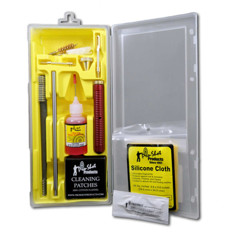 PRO-SHOT .38-.357 CAL/9MM CLEANING KIT