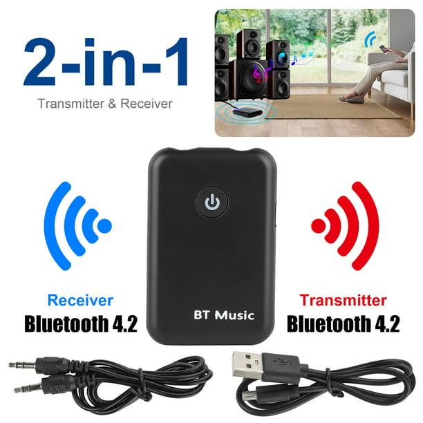 Bluetooth Receiver Eeekit Bluetooth Adapter Hands Free Car Kits Mini Wireless Music Adapter For Home Car Audio Stereo System Walmart Com Walmart Com