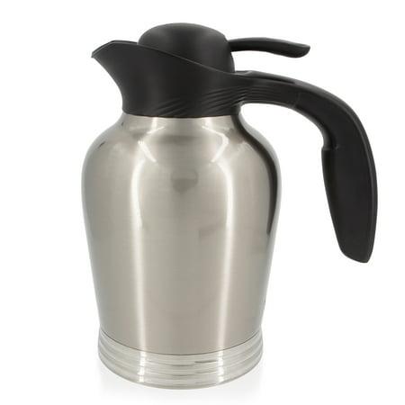 Stanley ErgoServ Coffee Dispenser Container Tea Carafe Vacuum Insulated Stainless Steel Coffee Server For Parties 1L Coffee Carafe Stainless Coffee Carafe