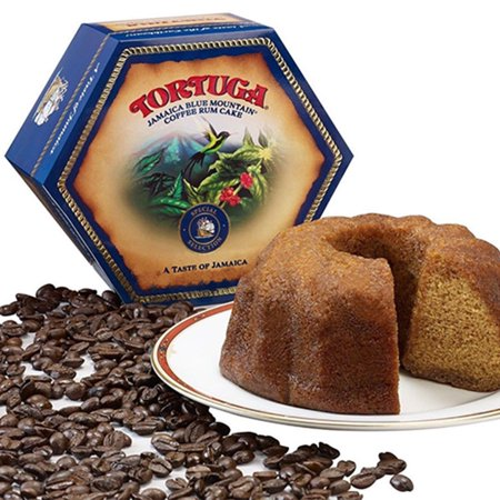 Tortuga Caribbean Rum Cake 4 Oz Blue Mountain Coffee Flavor FREE SHIPPING Blueberry Streusel Coffee Cake