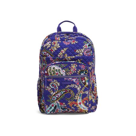 272af4e826ce Vera Bradley - Iconic XL Campus Backpack - Walmart.com