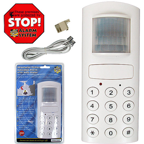 Trademark Motion Activated Alarm with Auto Dialer