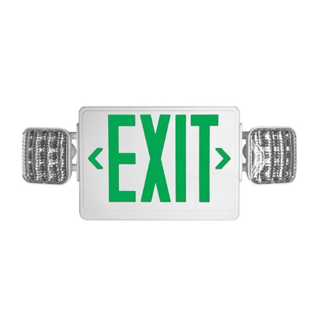Howard Lighting Products HL03143GW Exit Sign-Emergency Light Combo - image 1 de 1