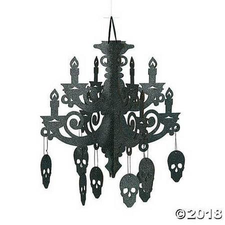 Spooky Floral Chandelier Halloween - Chandelier Halloween Party Sketch