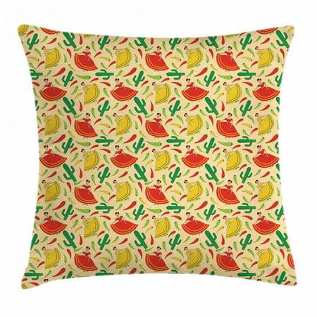 Spanish Throw Pillow Cushion Cover f0244f0c3