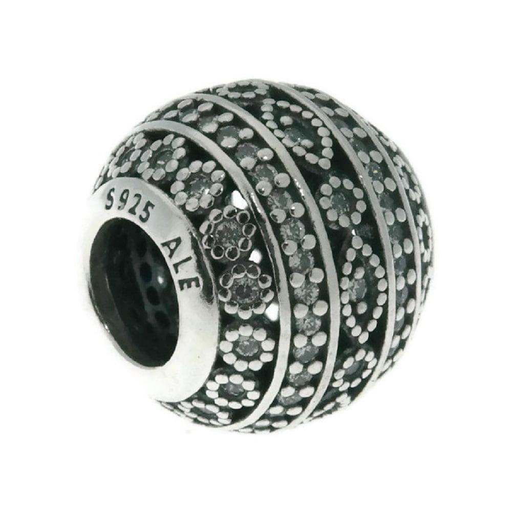 Pandora Women Silver Bead Charm - 796243CZ J3pjhfRjqr