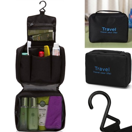 Hot Travel Hanging Toiletry Wash Shower Bag Organizer Kit Case Makeup Bag Cosmetic Bag Carry Tote for Men and Women](Shower Bags)