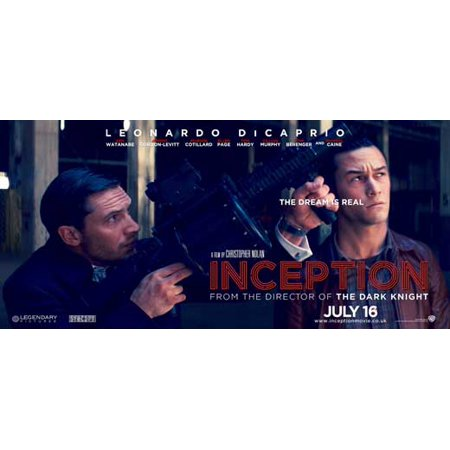 Inception POSTER Movie UK Z Mini Promo