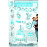 1st Birthday Blue Decorating Kit (10)