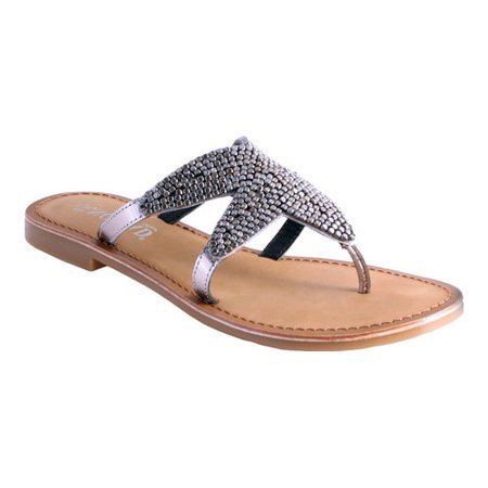5152b17ae1220 Nomad - Women s Shelly Starfish Thong Sandal - Walmart.com