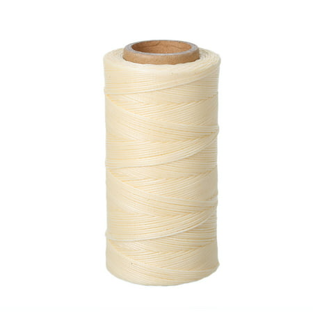 260m 150D 0.8mm Leather Sewing Hand Stitching Waxed Thread String Cord for Leather DIY Crafts ()