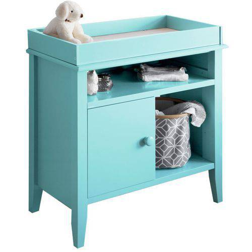Lolly And Me Universal Changing Table, Tiffany Blue