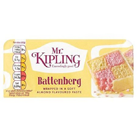 Mr Kipling Whole Battenburg - Oscar Cake