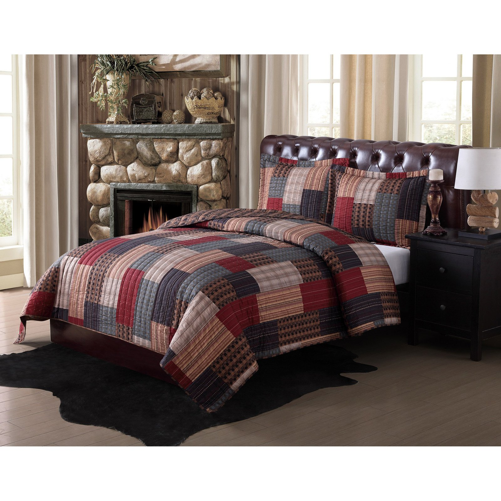 Remington Gunnison Rotary Bedding Quilt Set by PEM AMERICA