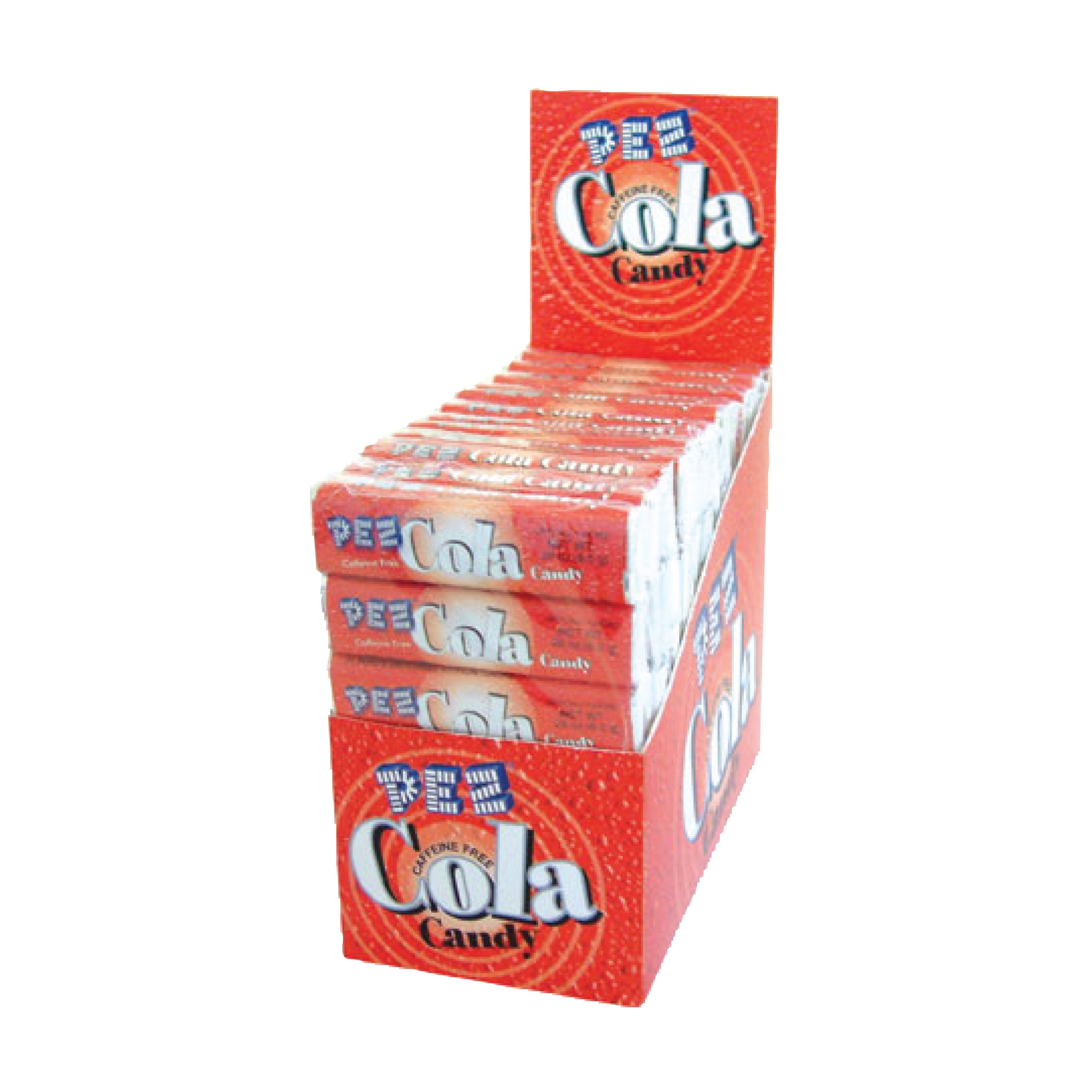 PEZ Candy 6-pack Cola Candy Rolls, box of 12 packs