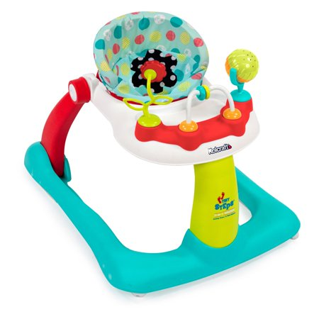 9d5e14aff049 Kolcraft Tiny Steps 2-in-1 Activity Walker - Walmart.com