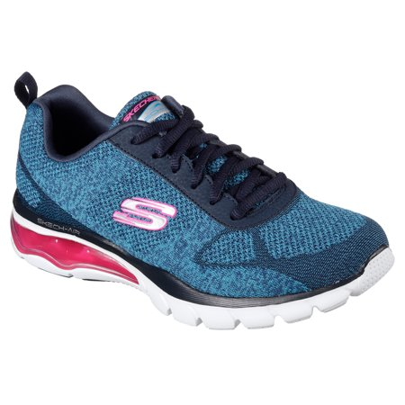 Skechers 12301BLHP Women's AIR CLOUD MASTERMIND Training Shoes