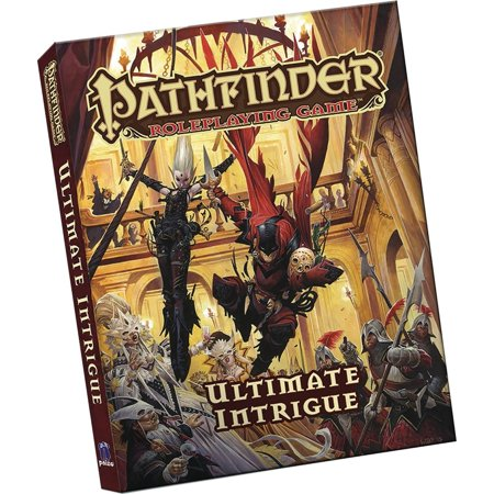 Pathfinder Roleplaying Game: Ultimate Intrigue Pocket Edition (Paperback) (Intrigue Game)