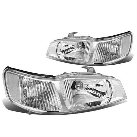 For 99 04 Honda Odyssey Headlight Chrome Housing Clear Corner Headlamp 00 01 02 03 Left Right